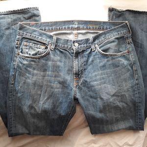7FAMK Bootcut men's jeans